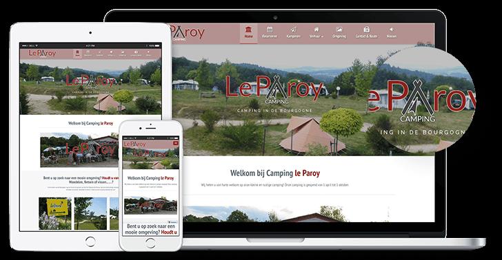 Nieuwe website Le Paroy